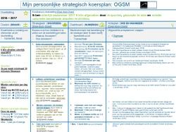OGSM voorbeeld